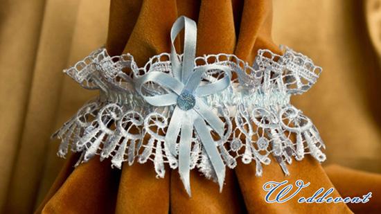 Подвязка невесты кружевная