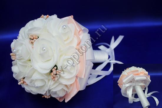 Букет дублер для невесты с белыми розами