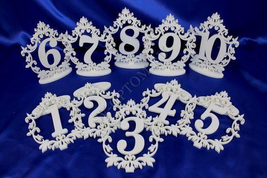 Номер на свадебный стол