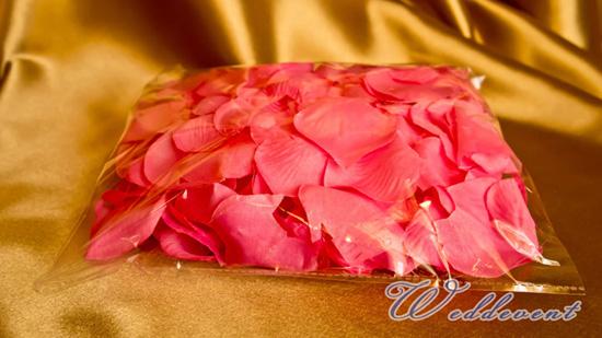 Лепестки роз «Ярко-розовые»