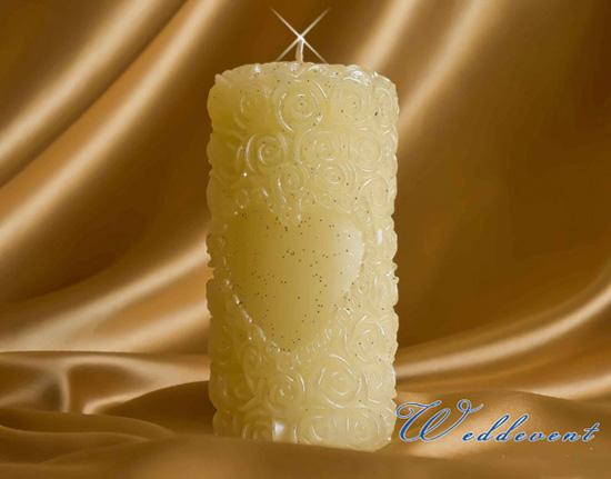 Свеча «Розы айвори»