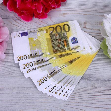 Деньги на выкуп пачка 200 Евро